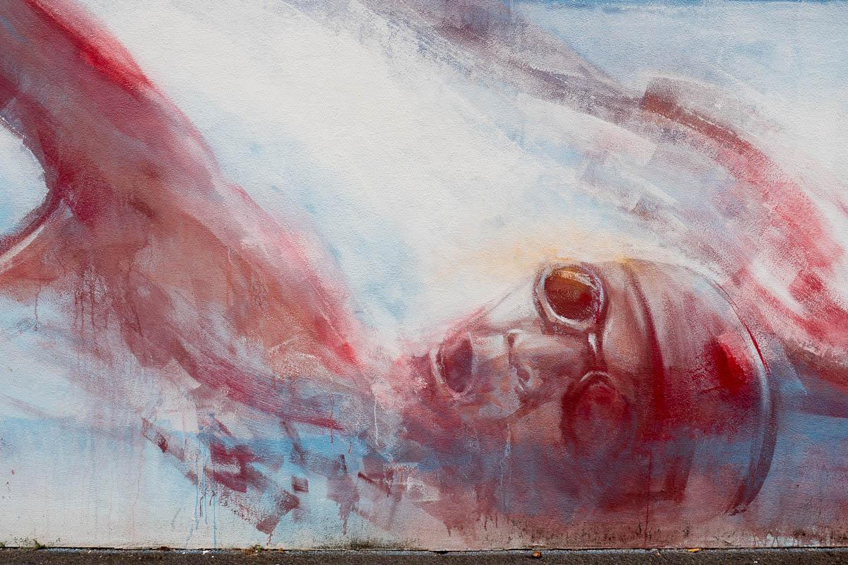Artwork von Guido Zimmermann in Frankfurt/Fechenheim (Update 10/2018)