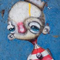 Street Art von Sten and Oli - Paste ups an der NDSM Werft
