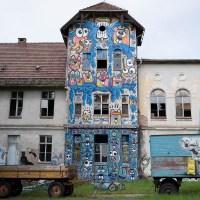 Graffiti & Streetart in der ehemaligen Landesirrenanstalt Domjüch (Part 1/2)