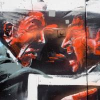 Graffiti in Offenbach - Hafengarten Wall 2020