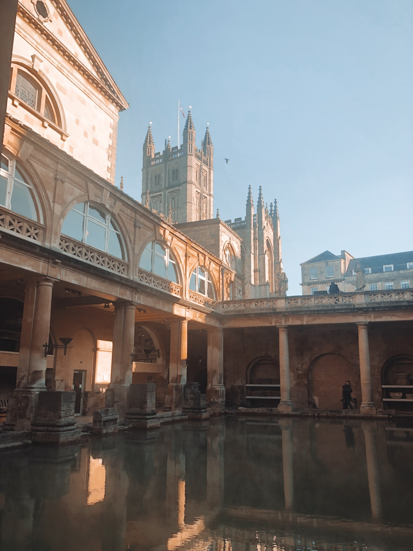 24 hours in bath Roman baths bath trip doseofbtravels travel blogger