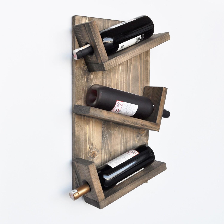aa048 wooden wine rack 792evl1763 walnut wooden wine rack 792evl1763 walnut