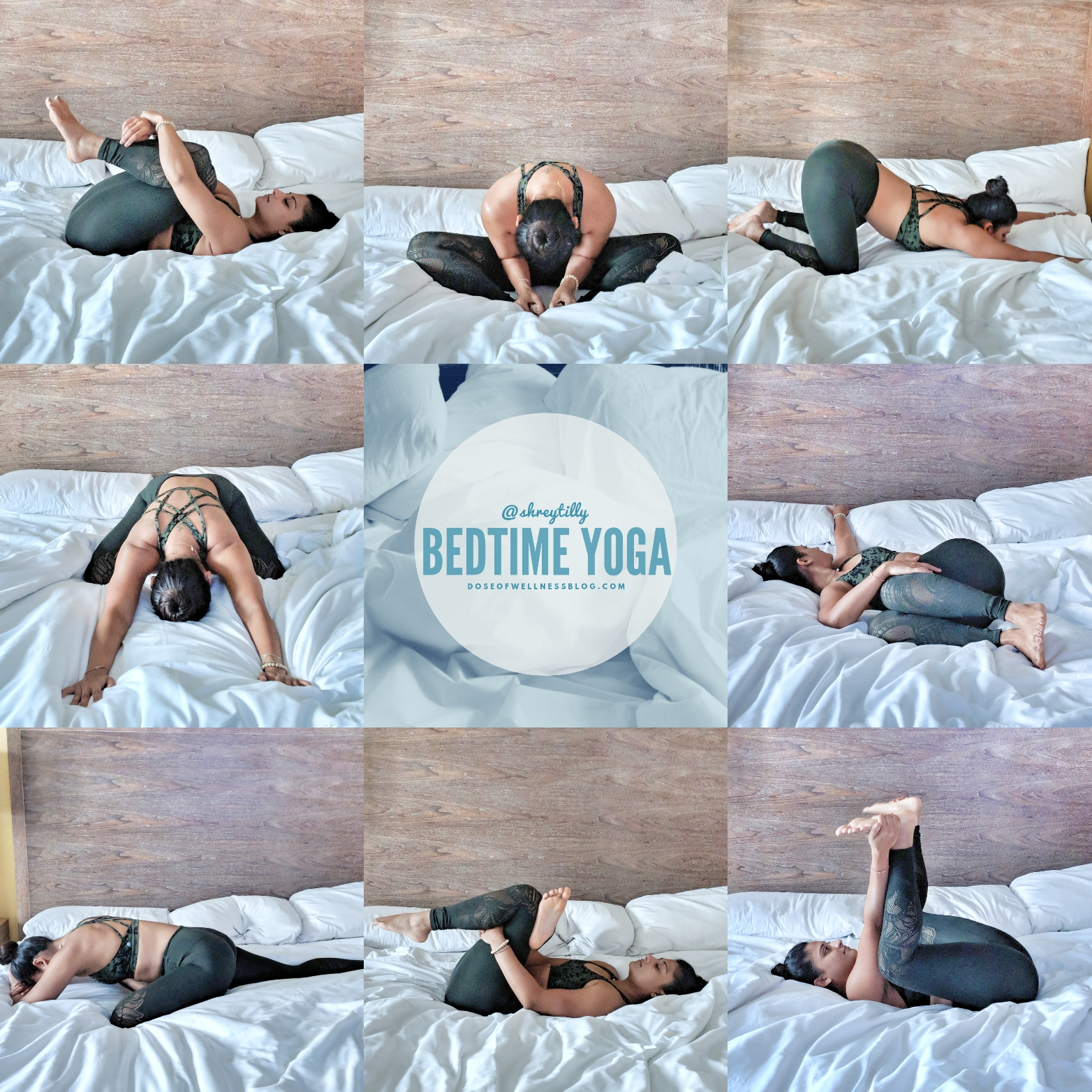 Bedtime Yoga: For Better Sleep » Dose of Wellness