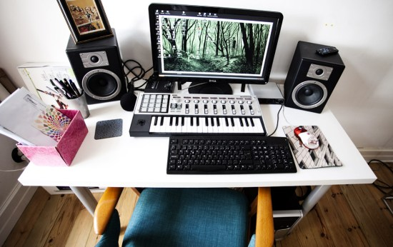 This is where the music gets done