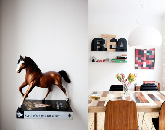 """I Love this horse"" Jenny tells me. And I agree it is stunning. See more of Thomas table here!"