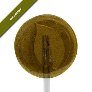 Single view of Dosha Pops' Amlaberry lollipop