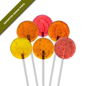 6-pack view of Dosha Pops' original Assorted Dosha Pops lollipops