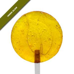 Single view of Dosha Pops' Inner Glow lollipop