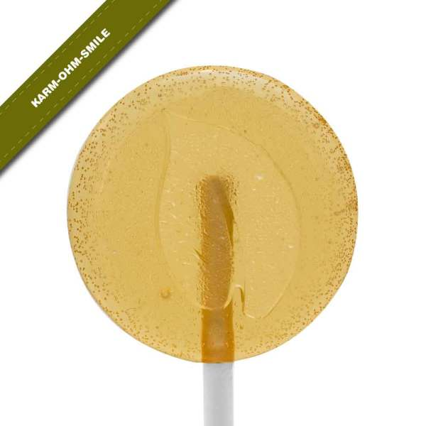 Single view of Dosha Pops' Karm-Ohm-Smile lollipop