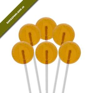 6-pack view of Dosha Pops' Sarsapari-Ahh lollipops