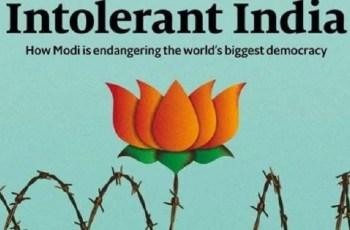 ভারতের ২০ কোটি মুসলিম আতঙ্কিত : দ্য ইকনমিস্ট