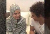 ইসলাম গ্রহণ করানোর পর তরুণীকে বিয়ে করলেন মিসরীয় ফুটবলার