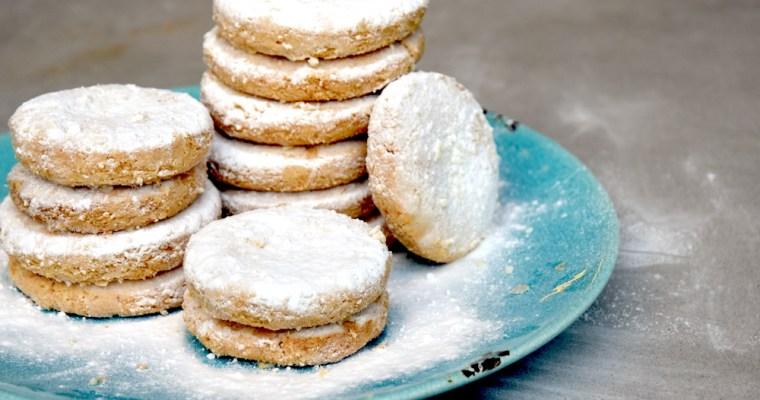 Polvoron koekjes