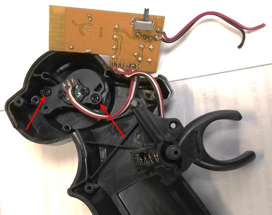 Thumb wheel pot assembly