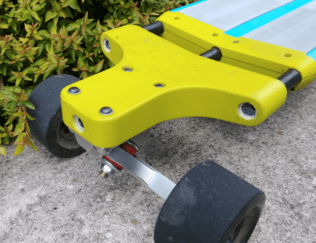 3d printed piece allows for truck mounting