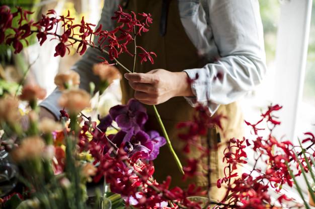 Florist decorator