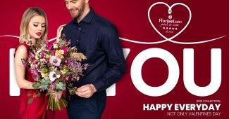 Flori Ziua Îndrăgostiților - oferte 2021