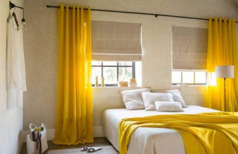 Почему следует выбирать желтые цвета в интерьере
