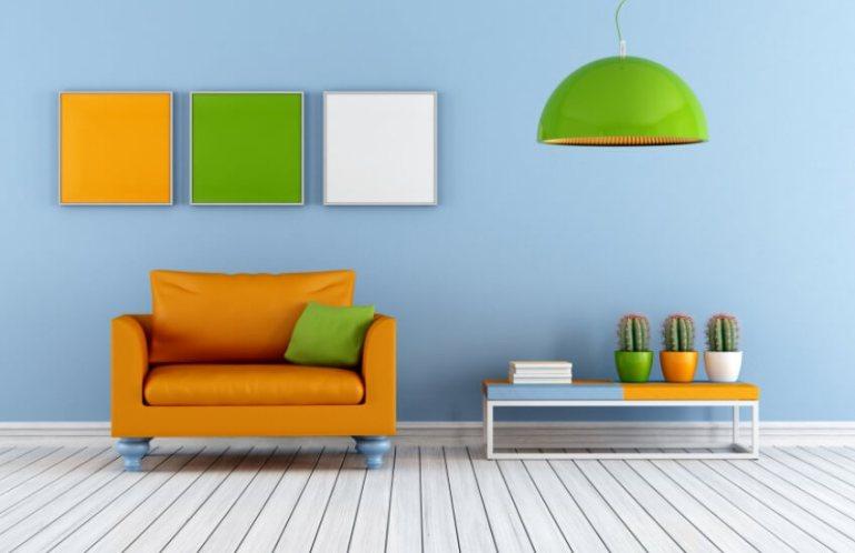 Как подобрать цвет в комнате