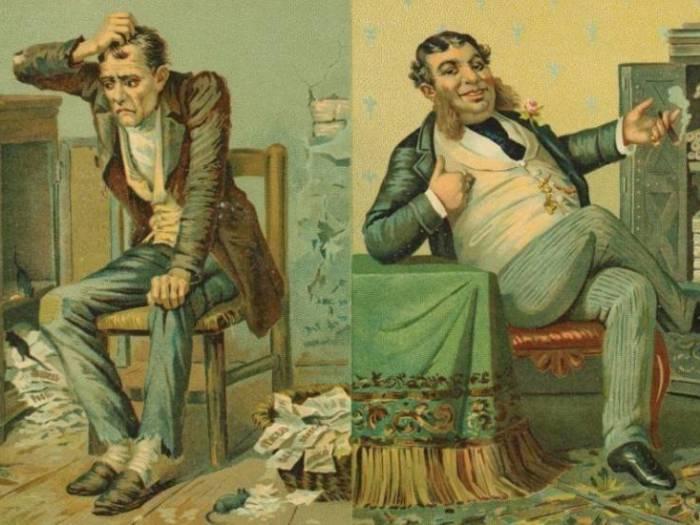 Богачи и бедняки — действительно ли это разные личности