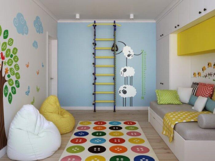 Выбираем шведскую стенку для ребенка