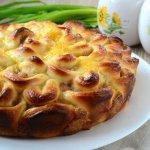 Пирог «Хризантема»
