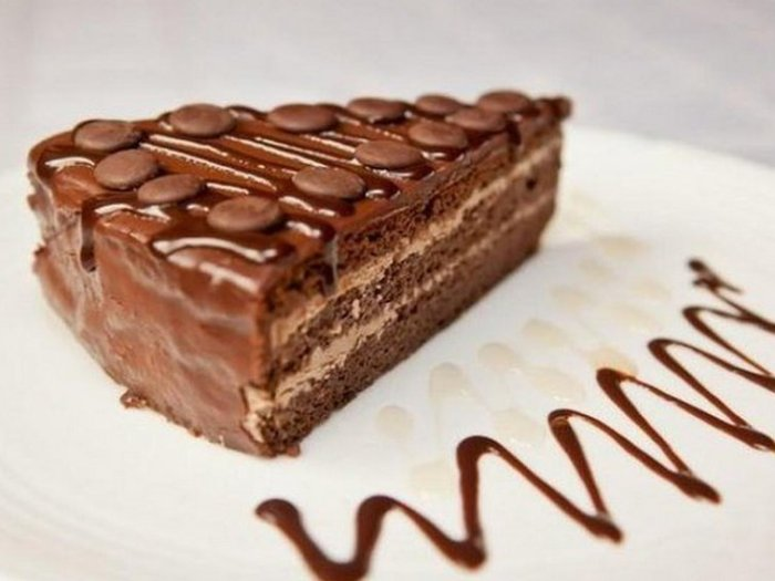 Торт «Шифоновая Прага»