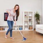 Как быстро убраться дома