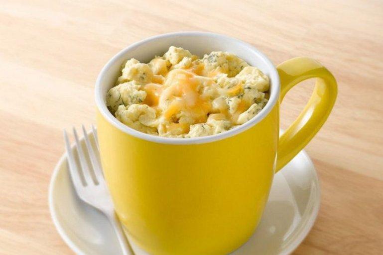 Завтраки в кружке из микроволновки