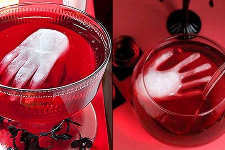 Как сделать пунш Ледяная рука на Хэллоуин