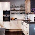 Статья о том как можно красиво оформить мебель на кухне