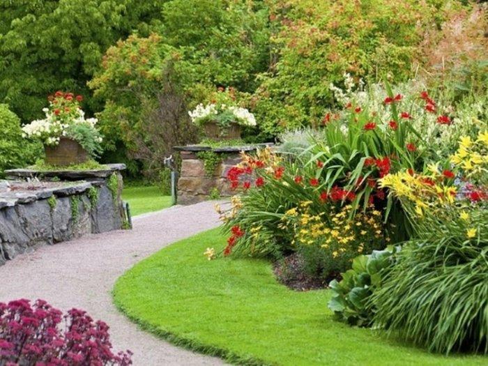 Какие кусты и растения посадить у входа в частный дом