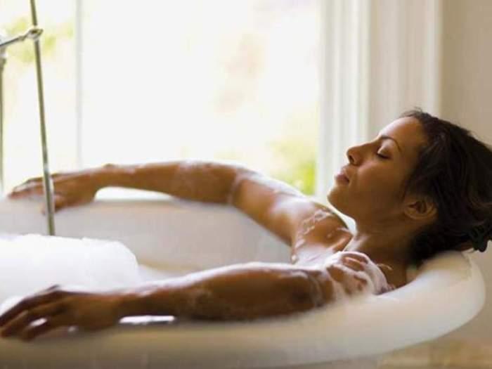 Как принимать ванну