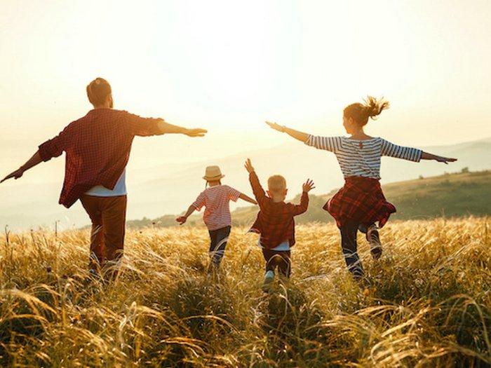 В каких домах живут счастливые семьи