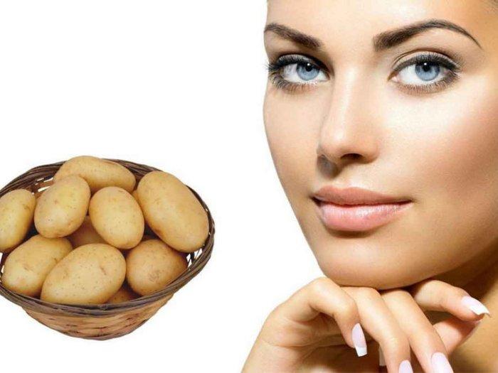 Рецепт маски из сырого картофеля