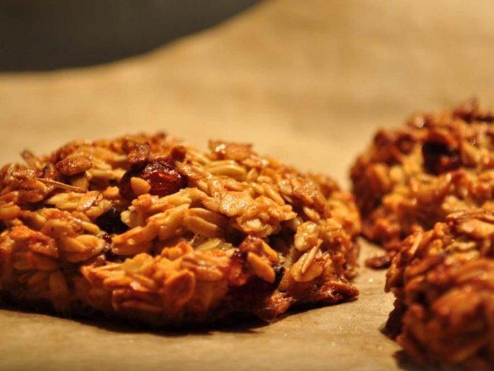 Овсяное печенье без муки, яиц и масла. Отличное решение для тех, кто соблюдает диету.