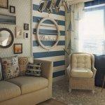 Шикарная идея для интерьера в морском стиле