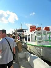 Subiendo al barco