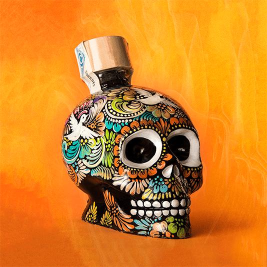 botella hecha a mano