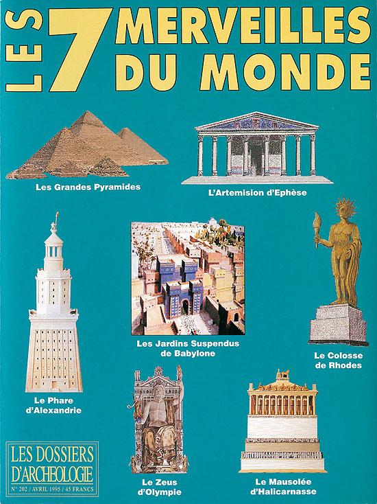 Liste Des 7 Merveilles Du Monde : liste, merveilles, monde, D'Olympie, Dossiers, D'Archéologie