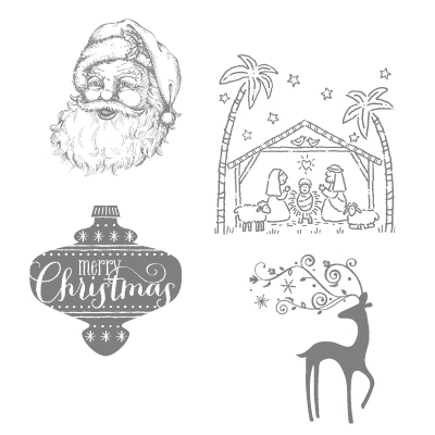 October: Stampin' Up! Best of Christmas, Free Digital