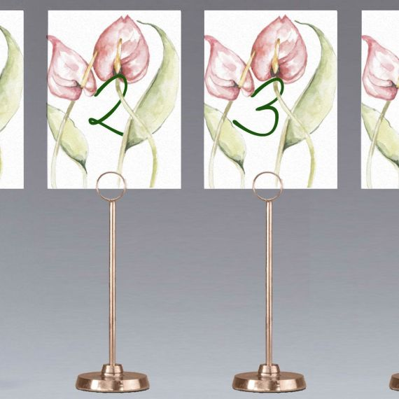 Meseros anthurium floral boda