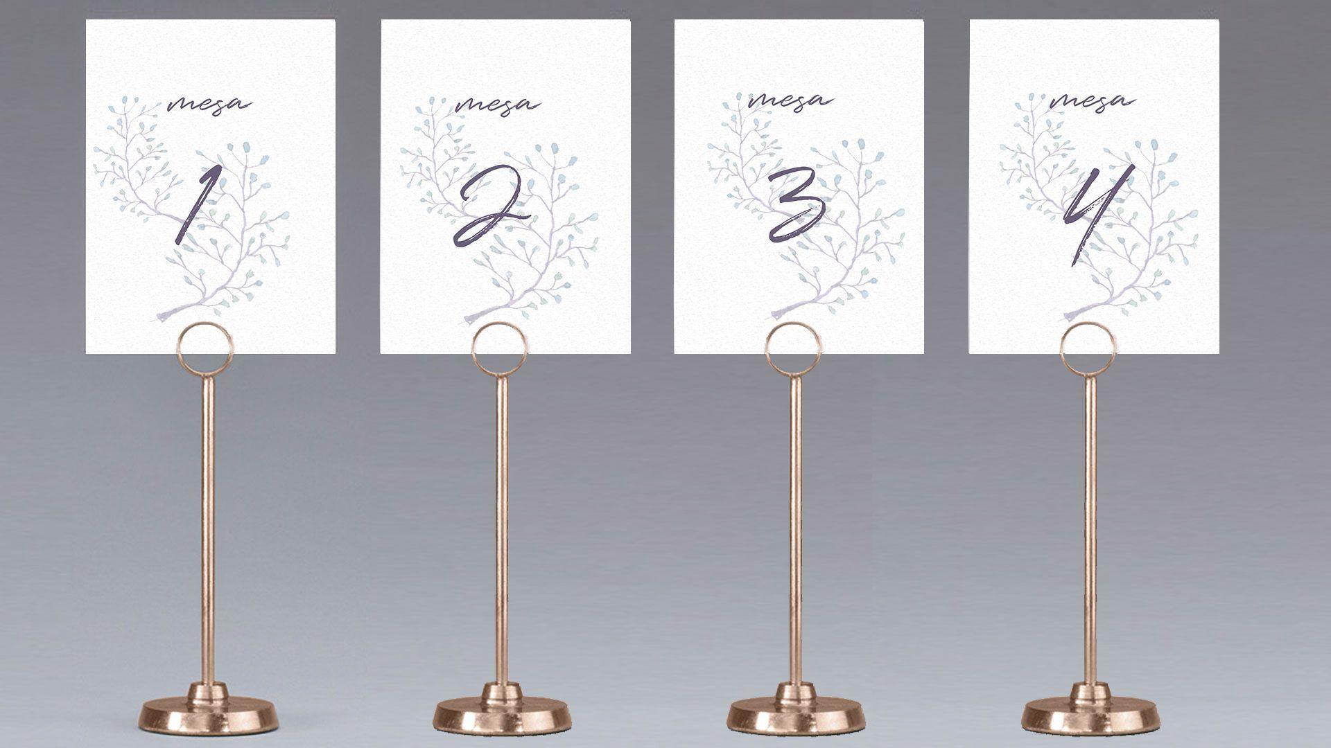 mesa mesero flor delicada boda