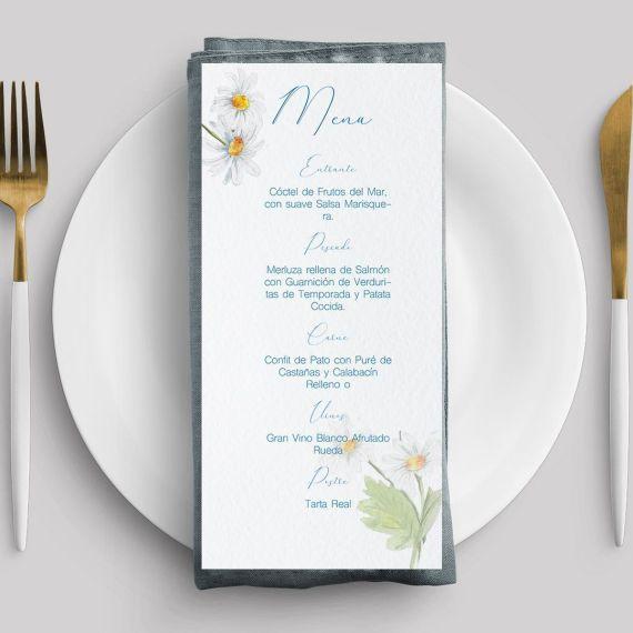 Margaritas Menu boda
