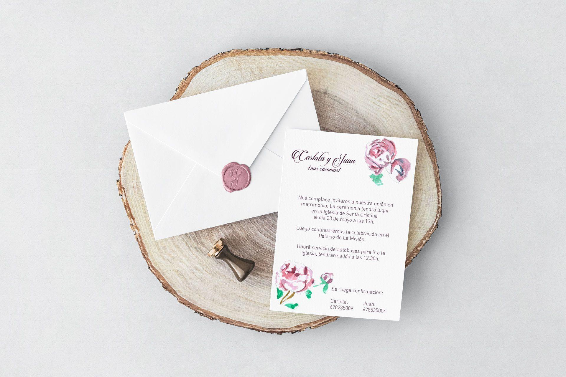 boda flora y clasica de carlota y juan
