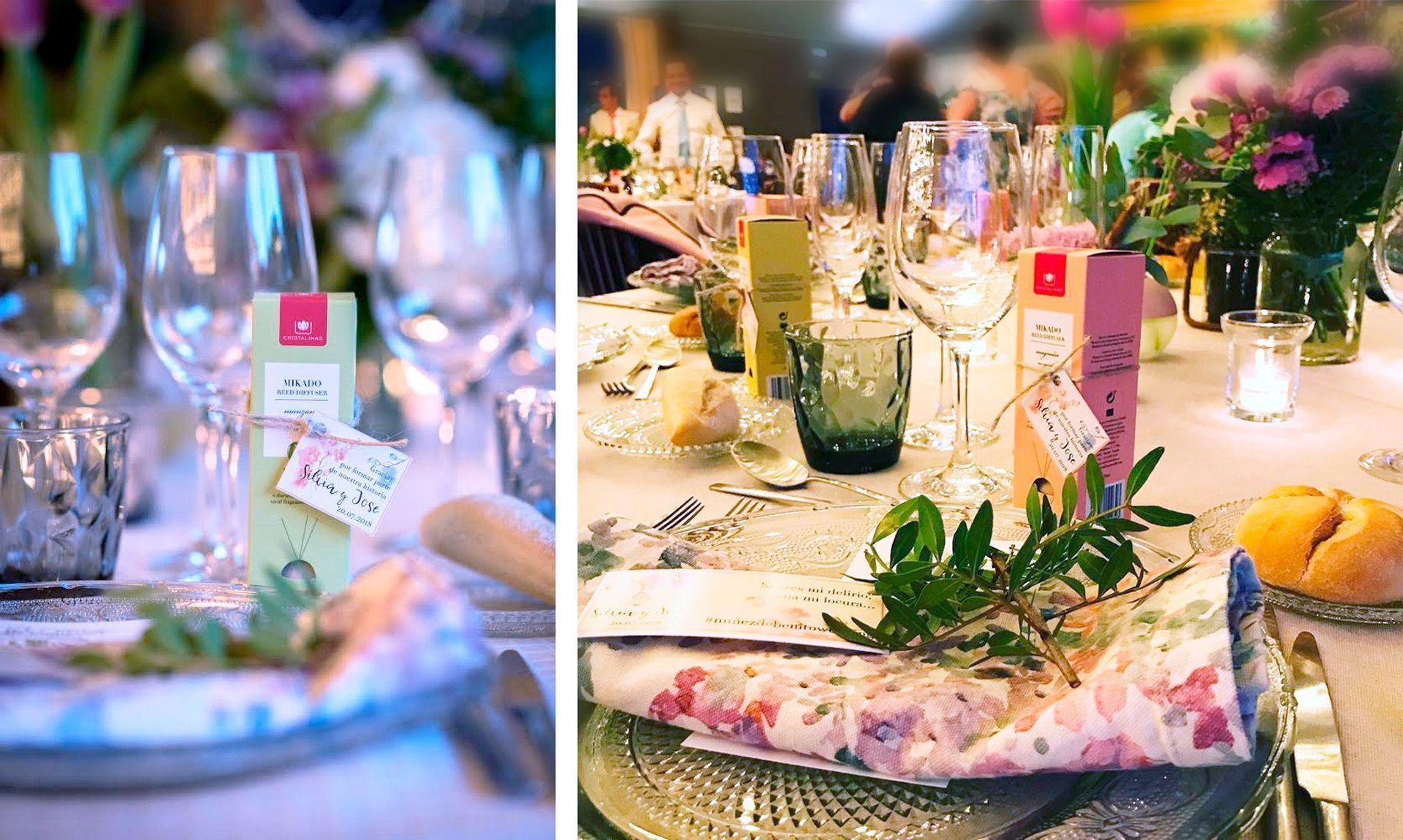 detalles personalizados de la boda de silvia de benito