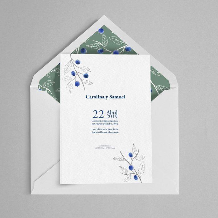invitacion de boda moras