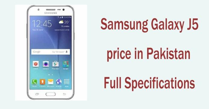 Samsung Galaxy J5 Price in Pakistan
