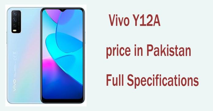 Vivo Y12A price in Pakistan