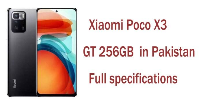 Xiaomi Poco X3 GT 256GB price in Pakistan